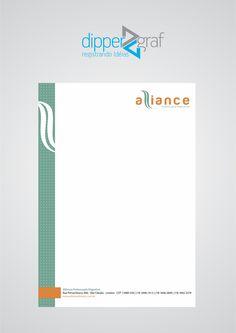 Cliente: Aliance | Job: Papel Timbrado