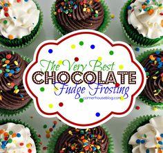 Chocolate Fudge Frosting Just Like Grandma Used to Make. Well as long as Grandma made really good chocolate fudge frosting.
