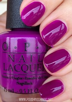 OPI Push & Pur-Pull nails Holy shit, that colour Opi Nail Polish, Opi Nails, Nail Polish Colors, Nail Polishes, Neon Purple Nails, Plum Nails, Purple Nail Polish, Colorful Nails, Fancy Nails