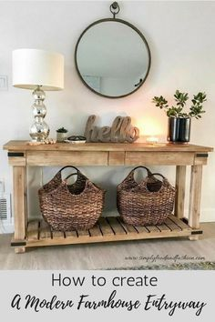 Fall entryway decor easy + simple touches to welcome fall into your home - diy-home-decor Fall Entryway Decor, Entryway Ideas, Entrance Table Decor, Entryway Furniture, House Furniture, Furniture Stores, Quality Furniture, Office Furniture, Office Decor