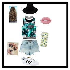Outfit ready by julierashy on Polyvore featuring polyvore, fashion, style, T By Alexander Wang, adidas, LULUS, rag & bone, Lime Crime and clothing