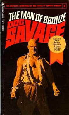 Doc Savage Books - The Man of Bronze Doc Savage.  I devoured these books as fast as I could find them.