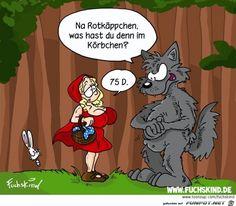lustiges Bild 'Rotkaeppchen.jpg'- Eine von 22287 Dateien in der Kategorie 'witzige Bilder' auf FUNPOT.