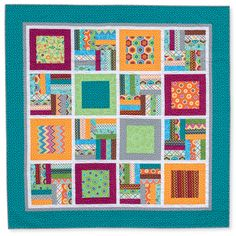 second wind quilt by rachel griffith from the book quilts made with love.