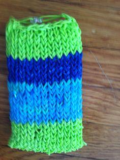 My iPod case from rainbow loom!!