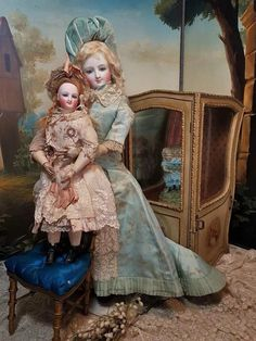 ~~~ Rare French Teenager Smiling Poupee by Leon Casimir Bru ~~~ : When Dreams Come True Doll-Shop | Ruby Lane