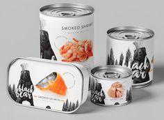 Дизайн упаковки рыбных продуктов