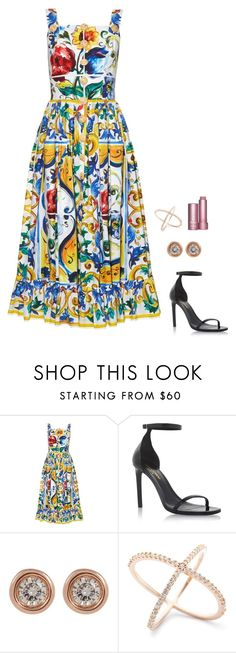 """""""Untitled #1078"""" by h1234l on Polyvore featuring Dolce&Gabbana, Yves Saint Laurent and Ron Hami"""