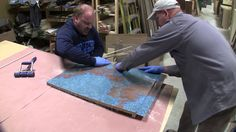 In this video I show how to make custom copper countertops using laminate veneer copper sheets. It's very easy to do and they look fantastic. Best of all, th...