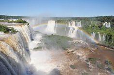 Iguassu on vesiputousten kuningatar.