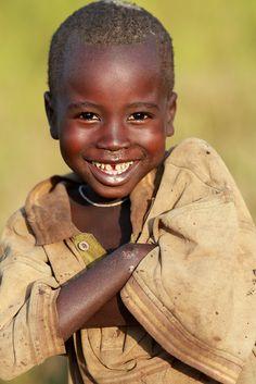 Sourire d'Ethiopie