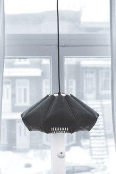 FILZ I - Wood and Felt lamp on Behance