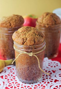 Banana Bread in a Jar I am thinking do it with pumpkin bread