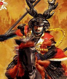 Veteran of 100 battles and Tokugawa's most hardcore samurai. Kabuto Samurai, Types Of Armor, The Last Samurai, Cherry Blossom Japan, Samurai Artwork, Ninja Art, Japanese Warrior, Traditional Japanese Tattoos, Oriental Tattoo