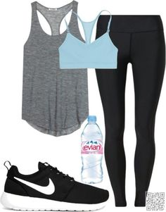 2. #Evian Blue - Don't Know What to Wear for Your Workout? 25 #Amazing Workout Styles to #Steal! → #Fitness #Styles