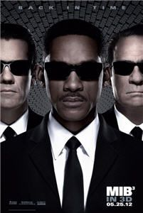 Men in Black III, starring Will Smith, Tommy Lee Jones and Josh Brolin, arrives in theaters on May 25