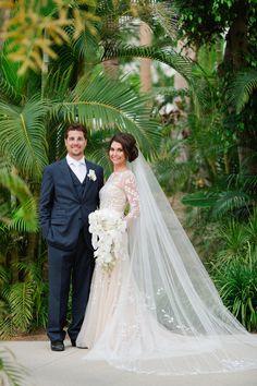 Carolina Herrera Bride: Heather Cianfarani in the 'Delfina' gown
