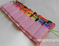 Super cute crayon organize, to make this. I'll make one for markers too : )