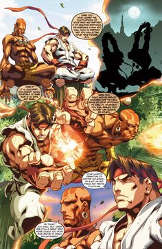 Street Fighter II Issue #3 - Read Street Fighter II Issue #3 comic online in high quality