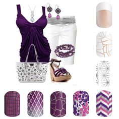 Spring Summer 2016 Fashion Jamberry DIY Nail Art White Tip Fractured Morocco Gala Glitz Savannah Sparkle Damsel In Distress After While