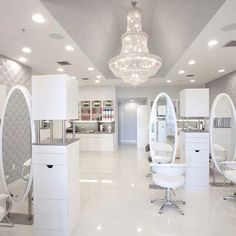 dream salon in my dream house.
