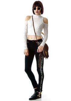MinkPink Imogen Crop Top from Dolls Kill was$69.00 now$49.00