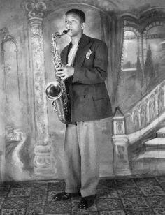 Young Sonny Rollins