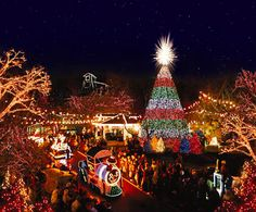Silver Dollar City in Branson, MO, Old Time Christmas