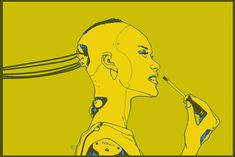 1,844 отметок «Нравится», 6 комментариев — Calum Watt (@calumalexanderwatt) в Instagram: «TOOLꓘIT #robot #android #mech #screwdriver #art #yellow #cyber»