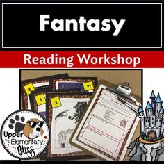 This is a complete unit of study to help you teach fantasy genre with your students. Lead your students as they read fantasy books in clubs with peers. Students will learn about: 6th Grade Reading, Reading Test, Reading Workshop, Reading Resources, Reading Strategies, Reading Comprehension, Teacher Resources, Genre Study, Prefixes And Suffixes