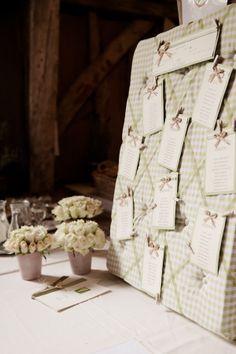 Homemade Sage Green Barn Wedding in Kent Wedding Table, Wedding Day, Green Barn, Seating Plans, Planner Ideas, Table Plans, Celebrity Weddings, Gingham, Wedding Stuff
