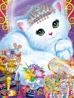 Purrscilla Art Print by Lisa Frank at Art.com