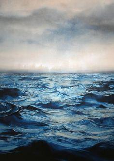 Ocean and more ocean.