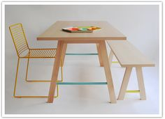 Love the Colors  mixed with natural wood ssodapop_colonel3