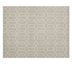 Reed Rug - Stone | Pottery Barn, rug for hearth area? comes in Stone or Wheat colors