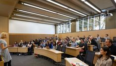 Stanton Williams completes contemporary addition to historic Cambridge university campus University Of Kansas, Cambridge University, Stanton Williams, School Building Design, Lecture Theatre, Student Scholarships, City College, Church Building, Student Studying