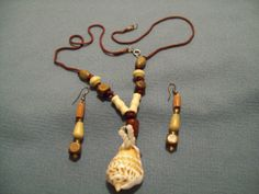 Fantastic   handcrafted wooden and cord necklace by veLoCiTyJ09, $20.00