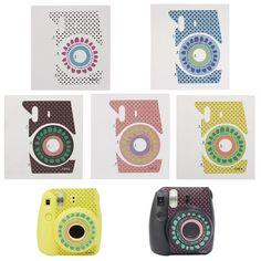 Flower Protection Cameras Decor Skin Sticker For Fujifilm Instax Mini 8 Camera #Unbranded