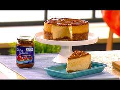 Video-#Receta: #Cheesecake con dulce de leche | Con Alma Obregón