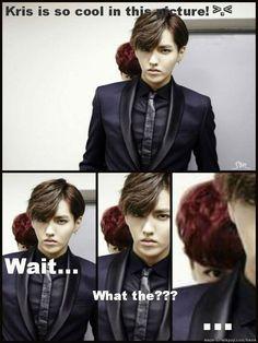 hahaha chanyeol what are u doing????