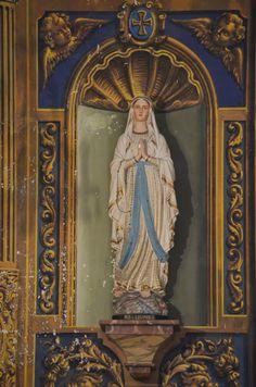 Imatges de Maria: Sant Vicenç vell d'Esterri d'Àneu (Catalunya)