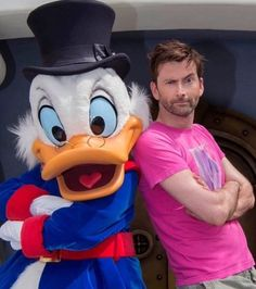 Scrooge and David Tennant David Tennant Tumblr, David Tennant Doctor Who, David Tennant Harry Potter, John Mcdonald, Michael Sheen, Duck Tales, Broadchurch, Doctor Who Quotes, Scrooge Mcduck