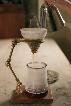 Coffee Registry x a daily something: the coffee.and I thought my Chemex pot was cool.a daily something: the coffee.and I thought my Chemex pot was cool. I Love Coffee, Coffee Art, Best Coffee, My Coffee, Coffee Shop, Coffee Cups, Hand Drip Coffee, Coffee Percolator, Ninja Coffee