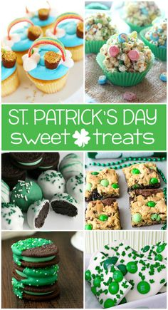 Having a St. Patrick's Day event this year? I'm certain you've got your recipes for boeuf, mashe St Patricks Day Crafts For Kids, St Patrick's Day Crafts, Holiday Treats, Holiday Recipes, Holiday Desserts, Spring Recipes, Holiday Cookies, Holiday Baking, Holiday Fun