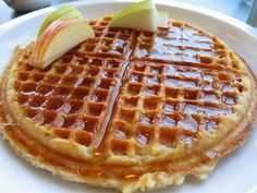 Fluffy Waffles.