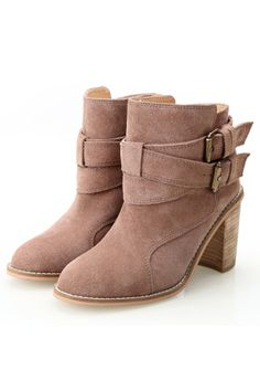 Standout Suede Ankle Boots - OASAP.com