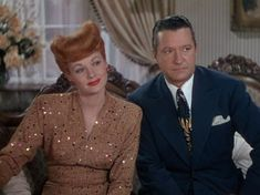 """Lucy and William Gaxton    From the 1943 film, """"Best Foot Forward"""""""