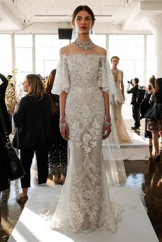 Stunning wedding dresses - The Most Breathtaking Wedding Dresses From Bridal Fashion Week – Stunning wedding dresses Stunning Wedding Dresses, Wedding Dress Trends, Best Wedding Dresses, Bridal Dresses, Wedding Ideas, Wedding Venues, Wedding Mandap, Wedding Stage, Wedding Vows