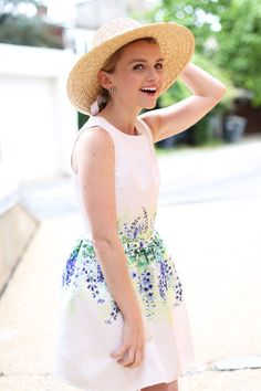 White Floral Sundress - via @poorlilitgirl (Poor Little It Girl)