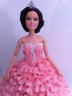princess doll cake tutorial